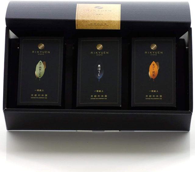 香ばしいお茶3種詰め合わせ お歳暮 黒ほうじ・香ばし煎茶・香ばし抹茶入り玄米茶 item-kohbashi-3set